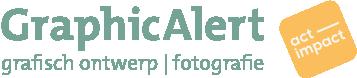 GraphicAlert | duurzaam grafisch ontwerp en fotografie Mobile Logo