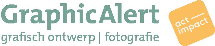 GraphicAlert | duurzaam grafisch ontwerp en fotografie Mobile Retina Logo