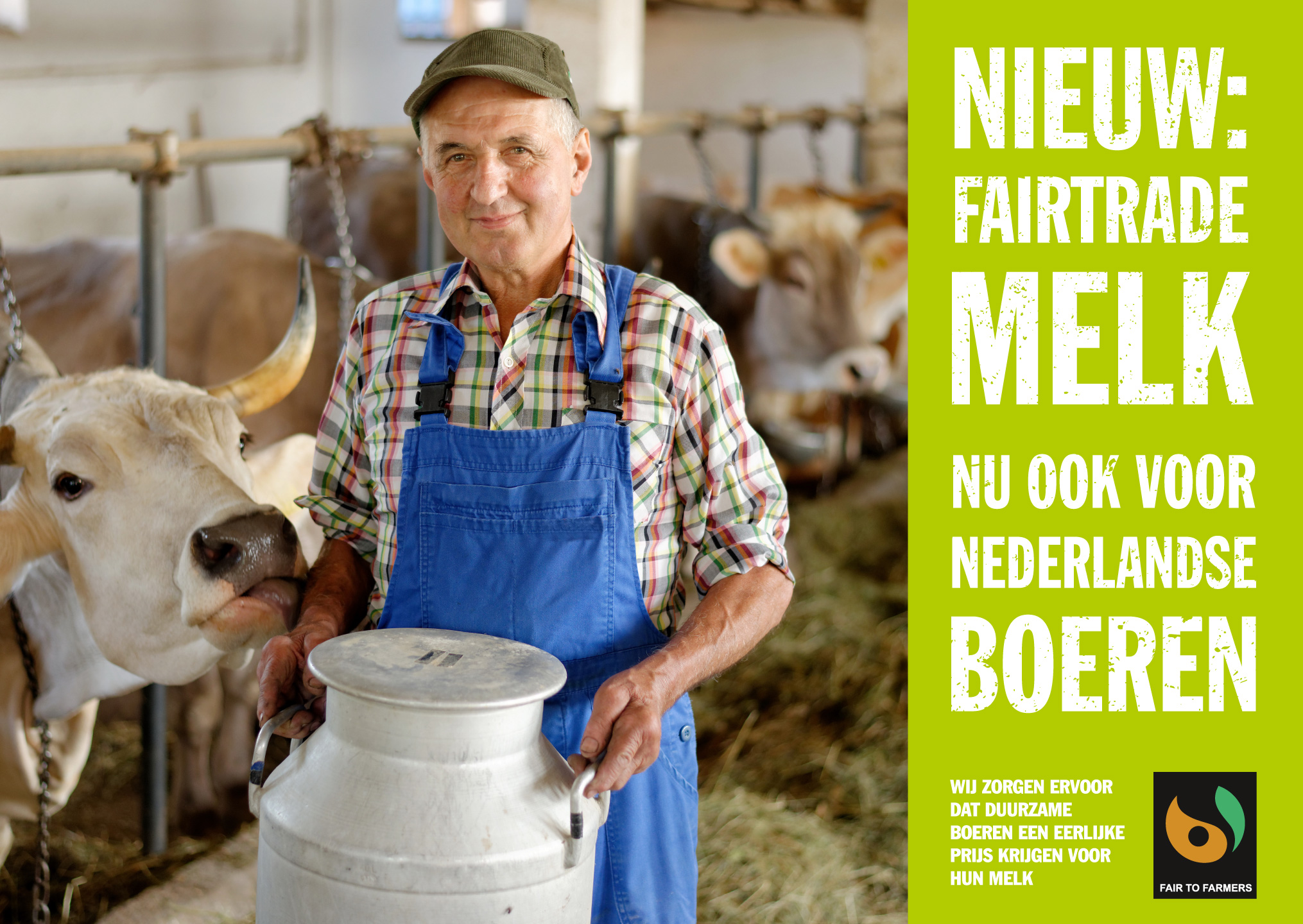Dagblad-De-Pers-Milieudefensie-Fairtrade-advertentie-melk-campagne-graphic-alert-act-impact